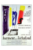 Lift to the Scaffold - French Style Posters