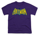 Youth: DC-Classic Batman Logo Dist T-shirts