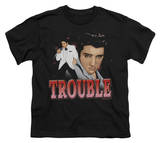 Youth: Elvis-Trouble Shirts