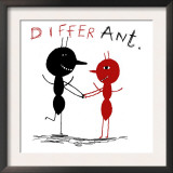 Differ Ant Poster