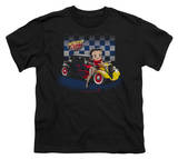 Youth: Betty Boop-Hot Rod Boop Shirts