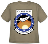 Youth: Stargate Universe-Icarus Base Logo Shirt