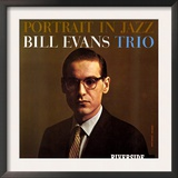 Bill Evans Trio - Portrait in Jazz Print by Paul Bacon