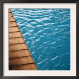 Poolside II Print by Nicole Katano