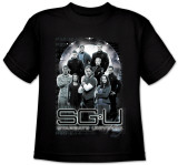 Youth: Stargate Universe-StargateU Cast T-Shirt