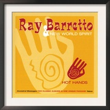 Ray Barretto - Hot Hands Print
