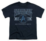 Youth: Star Trek-Starfleet Academy Earth T-shirts