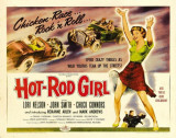 Hot Rod Girl -  Style Posters