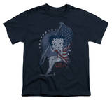 Youth: Betty Boop-Proud Betty T-Shirt