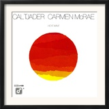Cal Tjader and Carmen McRae - Heat Wave Posters