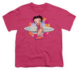 Youth: Betty Boop-Surf T-Shirt
