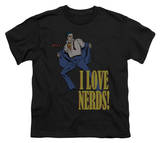 Youth: DC-I Love Nerds Shirt