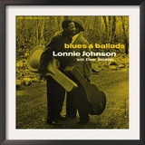 Lonnie Johnson - Blues and Ballads Poster