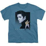 Youth: Elvis-Blue Rocker T-Shirt