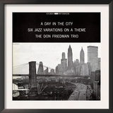 Don Friedman Trio - A Day in the City Prints