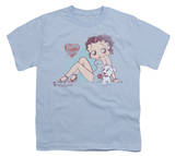 Youth: Betty Boop - Vintage Pin Pup T-shirts