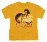 Youth: Elvis-Singing Hawaii Style Shirt