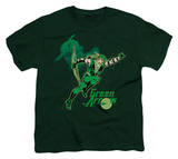 Youth: DC - Green Arrow In Action T-shirts