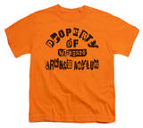 Youth: Batman - Property Of Arkham Shirts