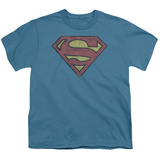 Youth: Superman-Gritty Shield T-Shirt