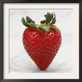 Sweet Strawberry Posters by Nicole Katano