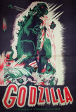 Godzilla, King of the Monsters - Romanian Style Póster