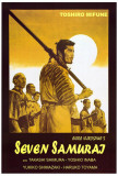 Seitsemän samuraita Julisteet