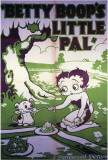 Betty Boop&#39;s Little Pal Print