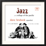 Dave Brubeck Quartet - Jazz at College of the Pacific Prints