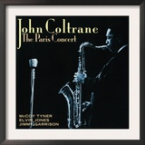 John Coltrane - The Paris Concert Prints