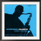 Sonny Rollins - Saxophone Colossus Art