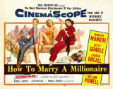 How to Marry a Millionaire -  Style Poster