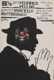 Fellini – Achteinhalb Poster