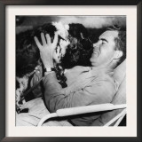 Senator and Vice Presidential Candidate Richard Nixon with His Dog, Checkers, 1952 Prints