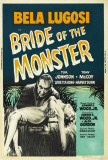 Bride of the Monster Posters