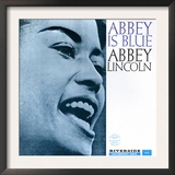 Abbey Lincoln - Abbey is Blue Prints by Paul Bacon