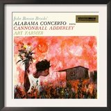 Cannonball Adderley - John Benson Brooks Alabama Concerto Prints
