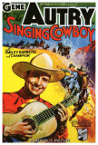 Singing Cowboy Print