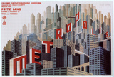 Metropolis - French Style Poster