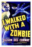 I Walked With a Zombie Plakaty