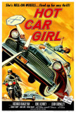 Hot Car Girl Posters