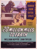 20 Million Miles to Earth Posters