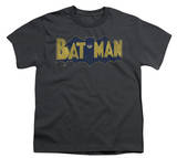 Youth: Batman - Vintage Logo Splatter T-shirts