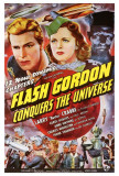 Flash Gordon Conquers the Universe Posters
