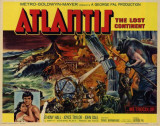 Atlantis, The Lost Continent -  Style Poster