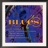 Blues Around the Clock Prints