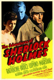 The Adventures of Sherlock Holmes Plakat
