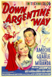 Down Argentine Way Posters