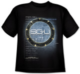 Youth: Stargate Universe - Computer Vision T-Shirt
