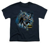 Youth: Justice League America - Batman Collage Shirts